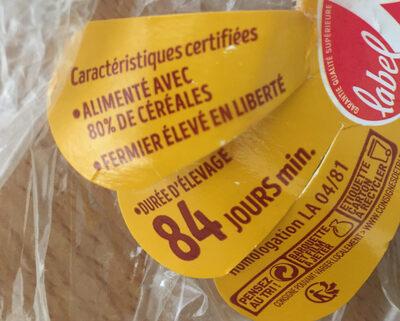 Poulet fermier de Loué - Ingredients - fr