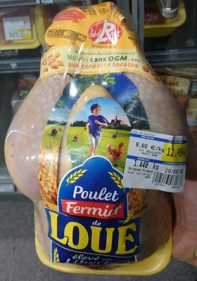Poulet Fermier Label Rouge de Loué - Produit