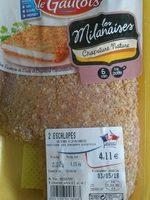 Escalope Les Milanaises - Ingredienti - fr