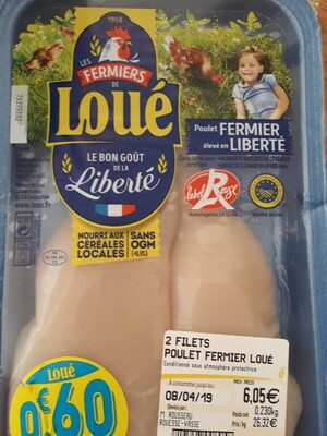 Poulet fermier de loué - Ingredients - fr