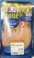 2 filets poulets fermier loué - Product - fr