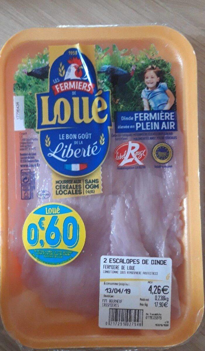 Escalope de dinde - Ingredients - fr