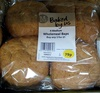 4 Medium Wholemeal Baps - Produit