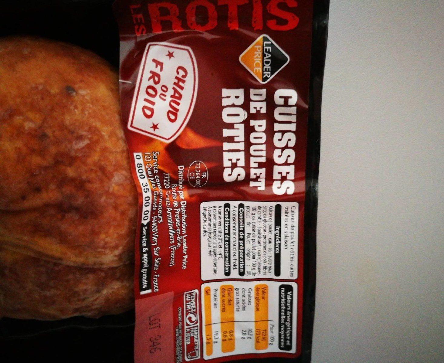 Cuisses de poulet rôties - Prodotto - fr
