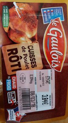 Cuisses de poulet roti - Product