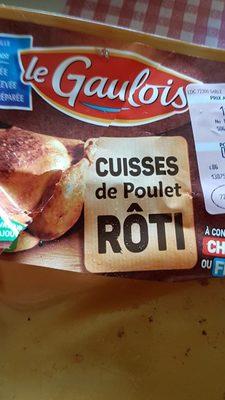 Cuisses poulet - Ingrédients