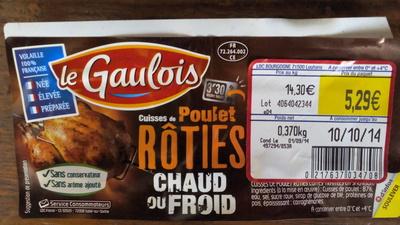 Cuisses de Poulet Rôties - Produit - fr