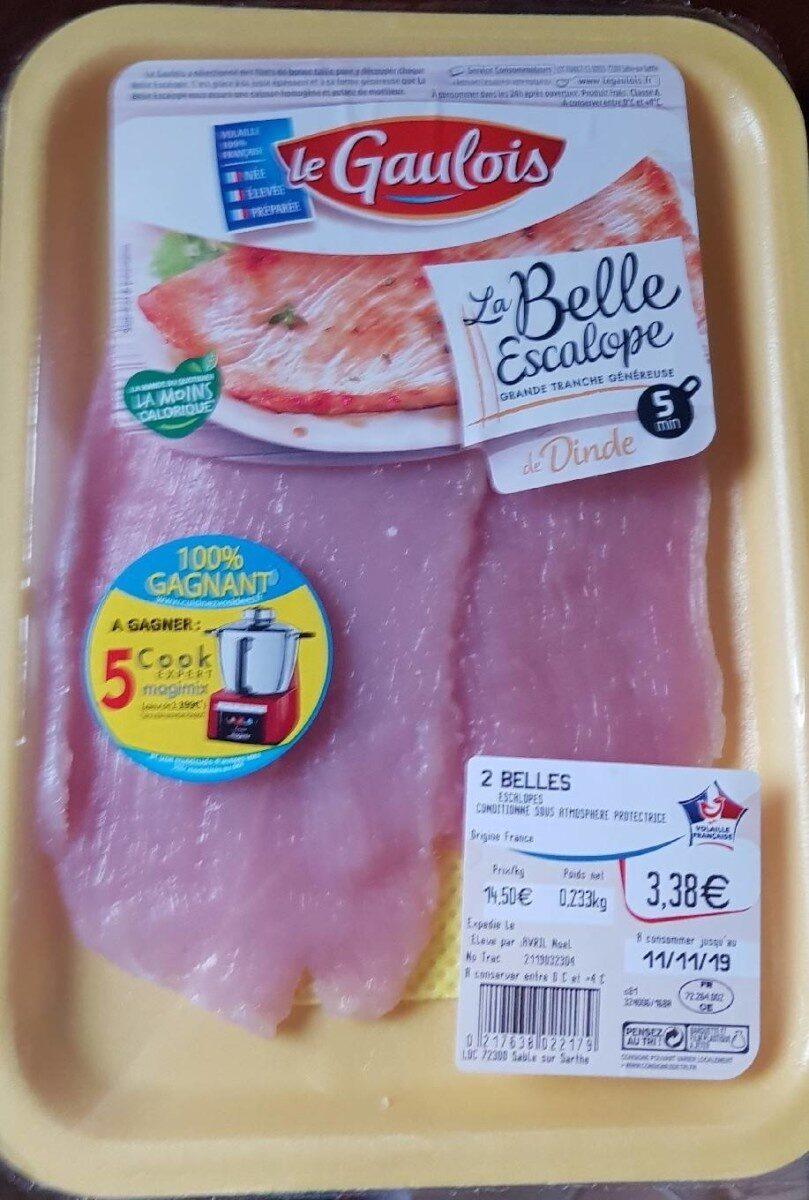 La Belle escalope de Dinde - Produit - fr