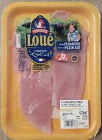 Escalopes fines de dinde fermière de Loué - Product - fr