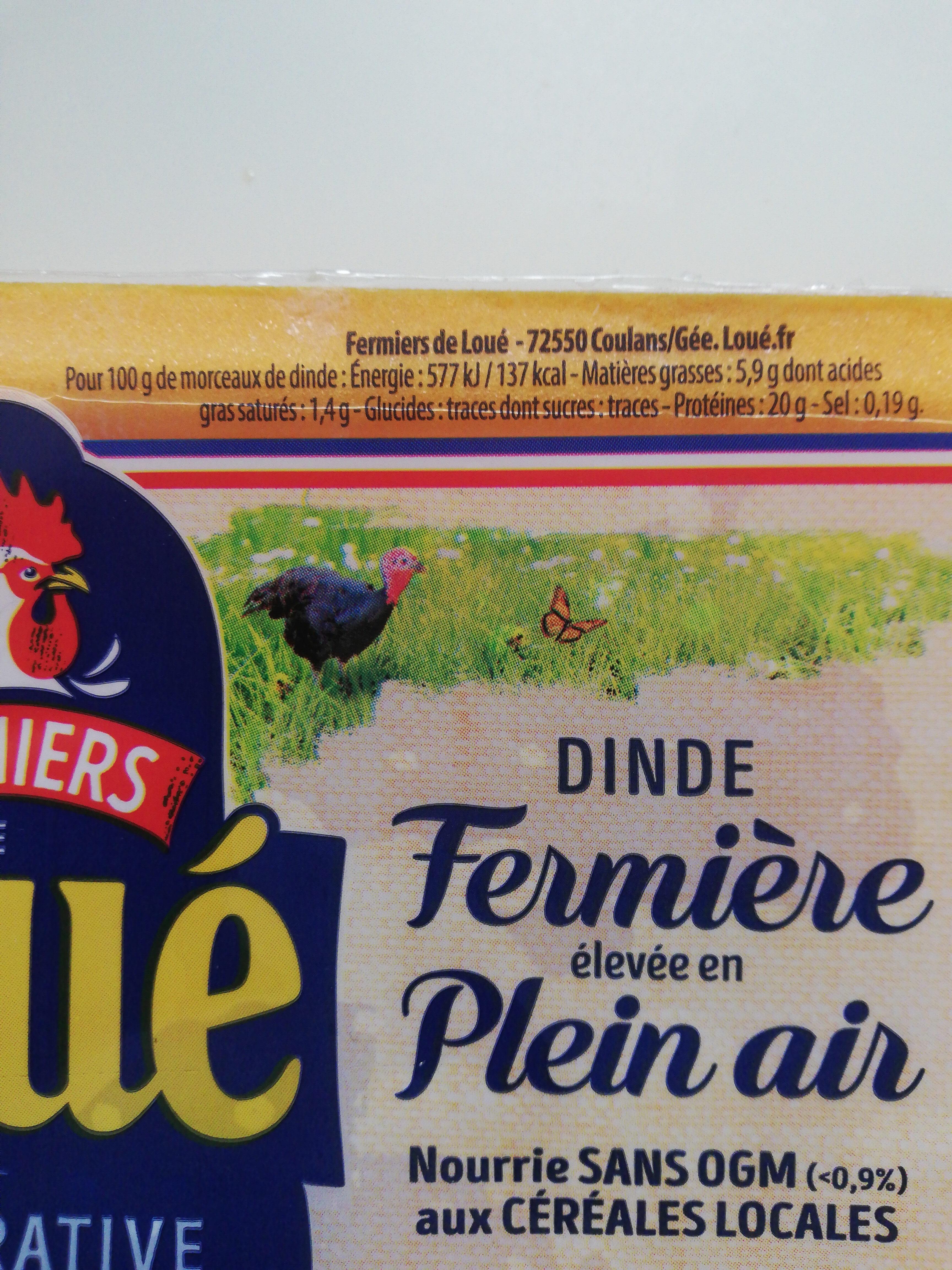 Escalopes fines de dinde fermière de Loué - Ingredients - fr