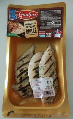 Aiguillettes de poulet grillé - Produit