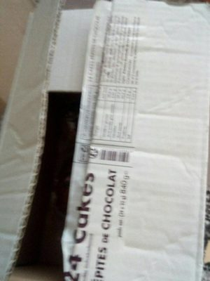 Cake pepites chocolat - Product - fr