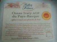 Ossau Iraty AOP du pays-Basque - Produit