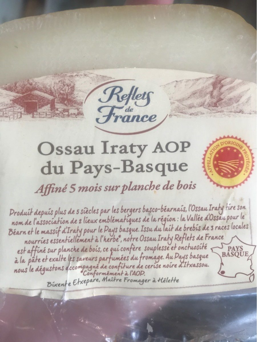 Ossau iraty AOP du pays basque - Produit