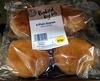 4 plain scones - Product