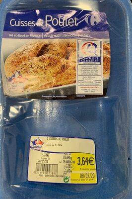 Cuisses de poulet - Product - fr