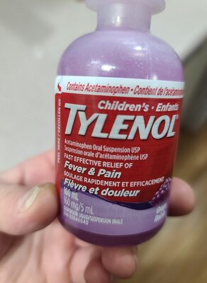 childrens tylenol - Produit - en