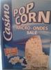 pop corn mirco-ondes salé - Product