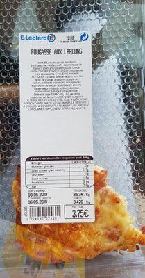 Fougasse aux lardons - Product
