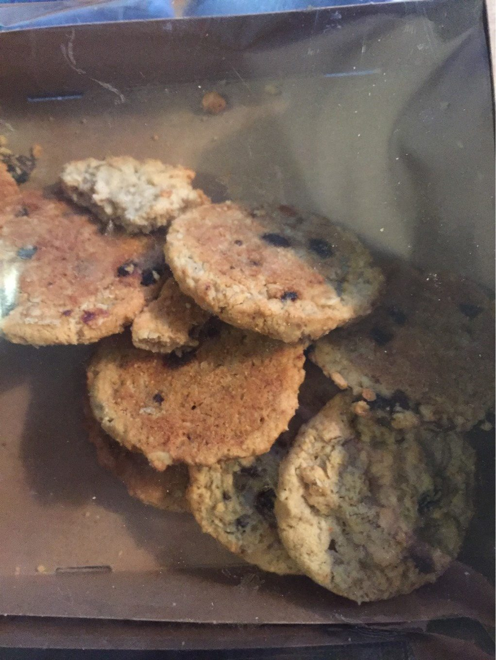 Oatmeal Raisin Cookies - Product - fr