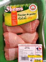 decoupe de poulet - Product