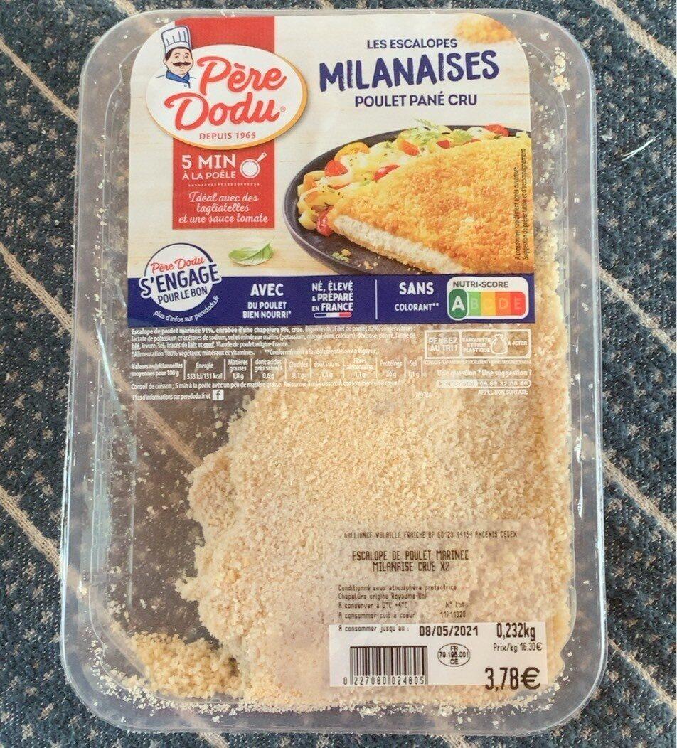 Les Milanaises du Chef - Produit - fr