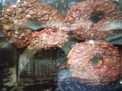 Choc Iced Donuts - Product - en