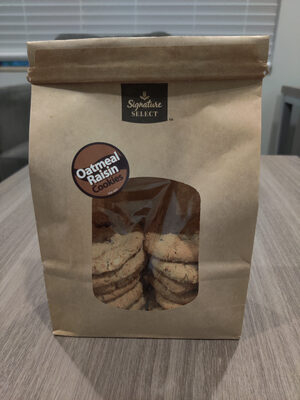 Oatmeal Raisin Cookies - Product - en