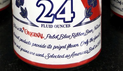 Pabst Blue Ribbon Beer - 24 fl  oz (710 mL)