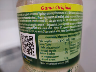 Granini zanahoria y naranja - Informations nutritionnelles