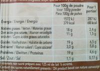 bio-flan - Informations nutritionnelles - fr