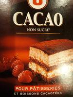 cacao non sucré - Produit - fr