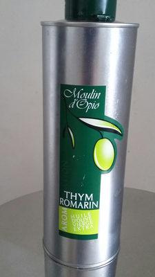 huile d'olive Thym romarin - Produit