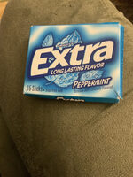 Peppermint long lasting flavor sugarfree gum, peppermint - Product - en