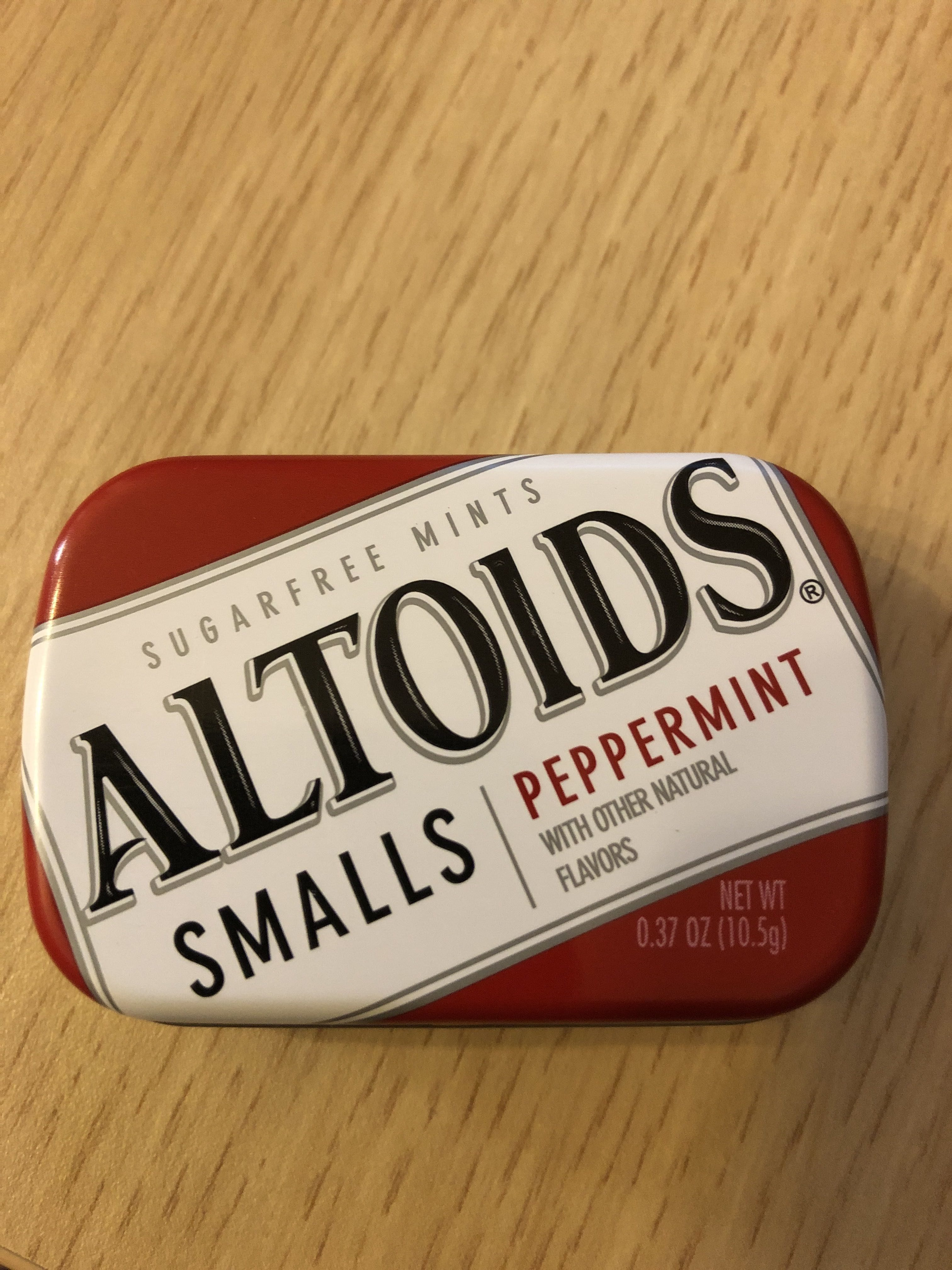 Peppermint sugarfree mints, peppermint - Produit - fr