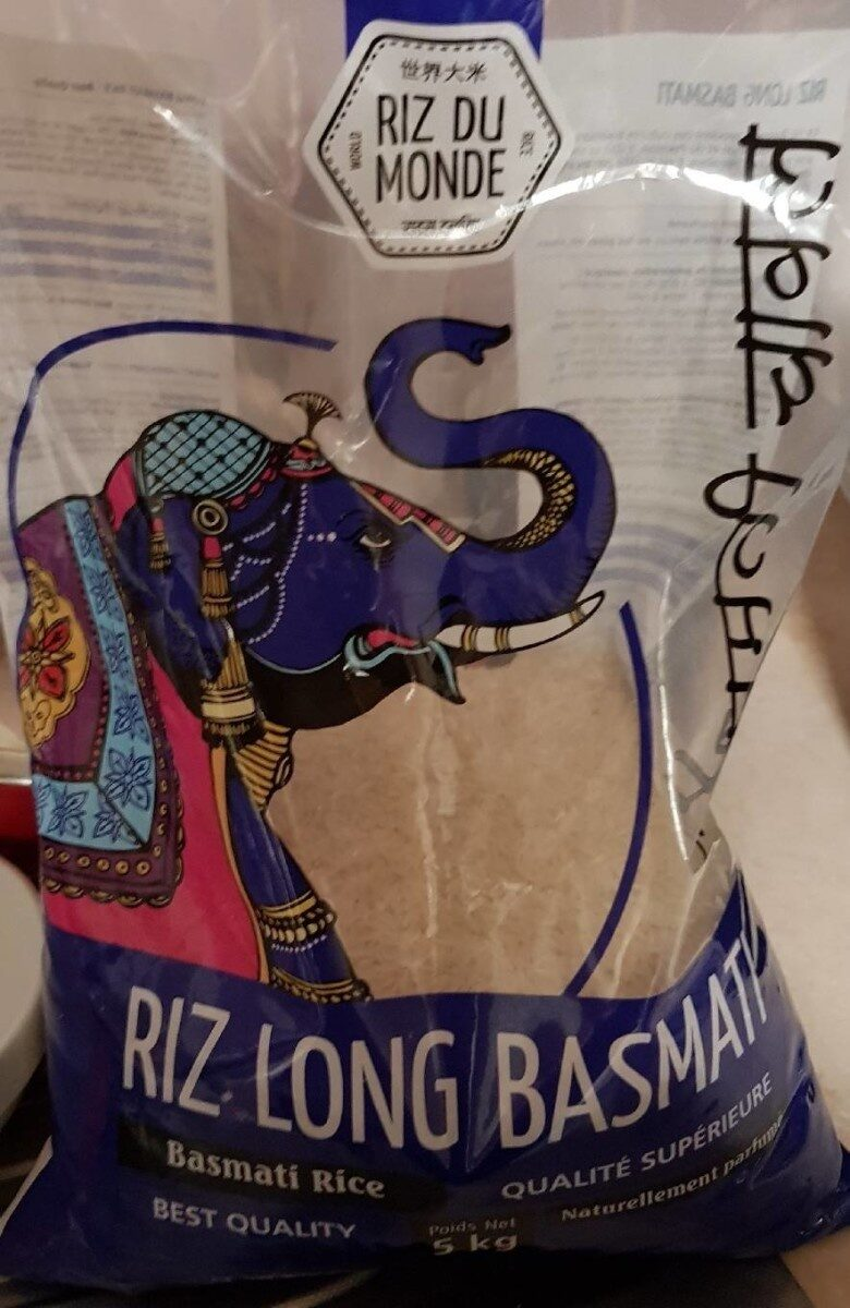 Riz long basmati - Produit - fr
