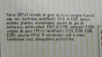 4 crépinettes carmaguaises - Ingrédients - fr