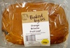 Orange Brioche Fruit Loaf - Product