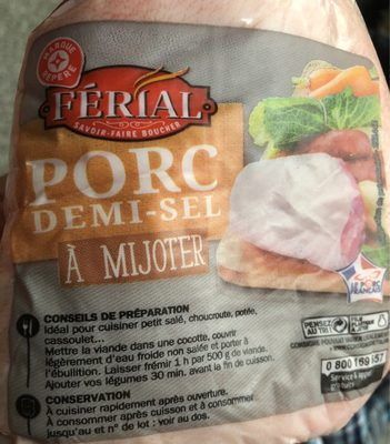 Porc demi-sel - Product
