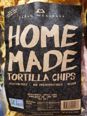 Home Made Tortilla Chips - Product