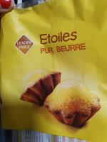 étoiles pour beurre - Product - fr