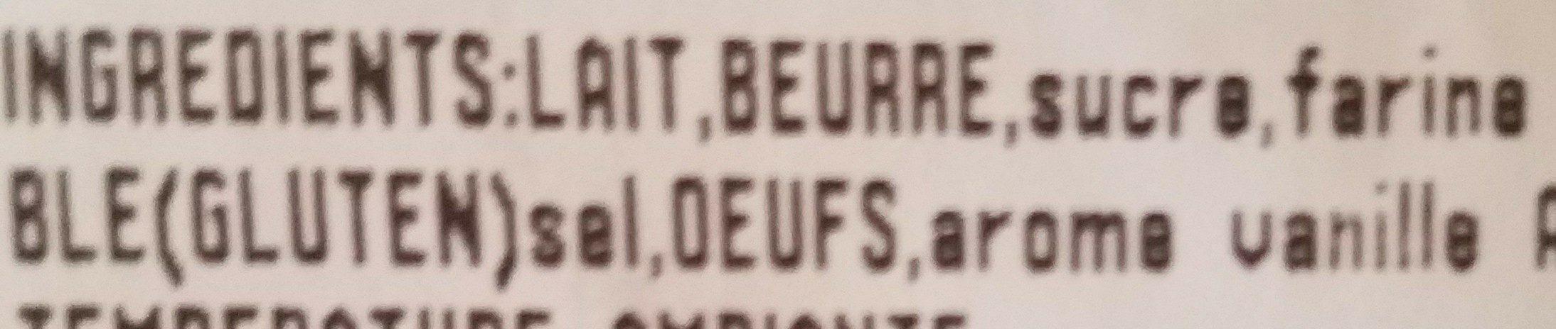 Crêpes - Ingrédients - fr