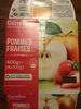 Spécialité de fruits Pommes Fraises - Product