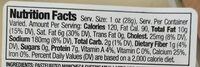 Manchego cheese - Nutrition facts - en