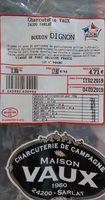 Boudin oignon - Product - fr