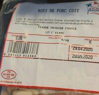 Rôti de porc cuit - Product - fr