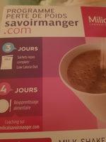 milk-shake au chocolat - Produit