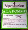 4 beignets moelleux à la pomme - Produit