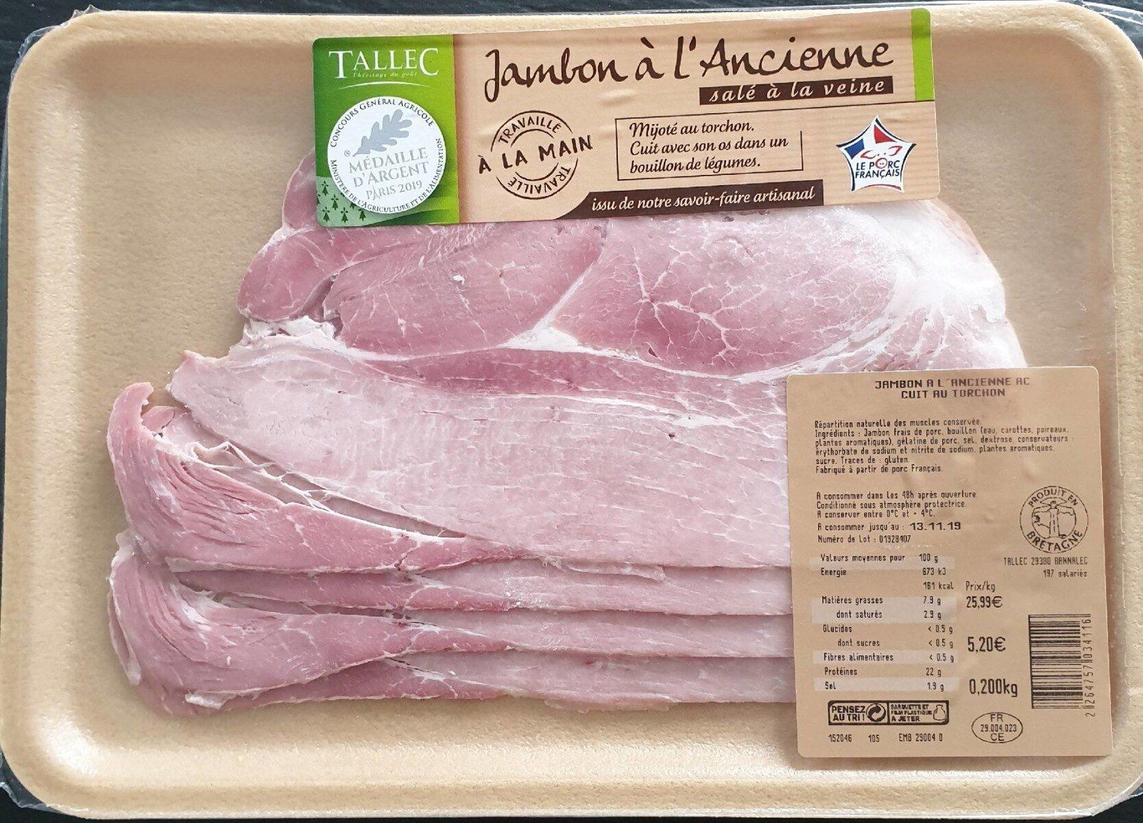 Jambon à l'ancienne - Product - fr