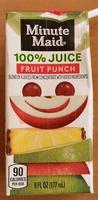 100% Juice Fruit Punch - Product